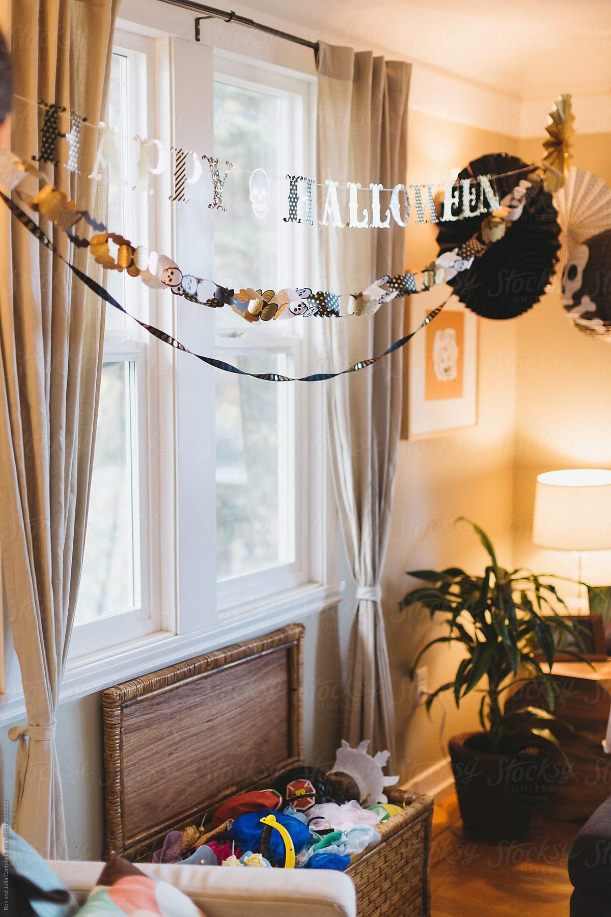 halloween decorations inside | stocksy united
