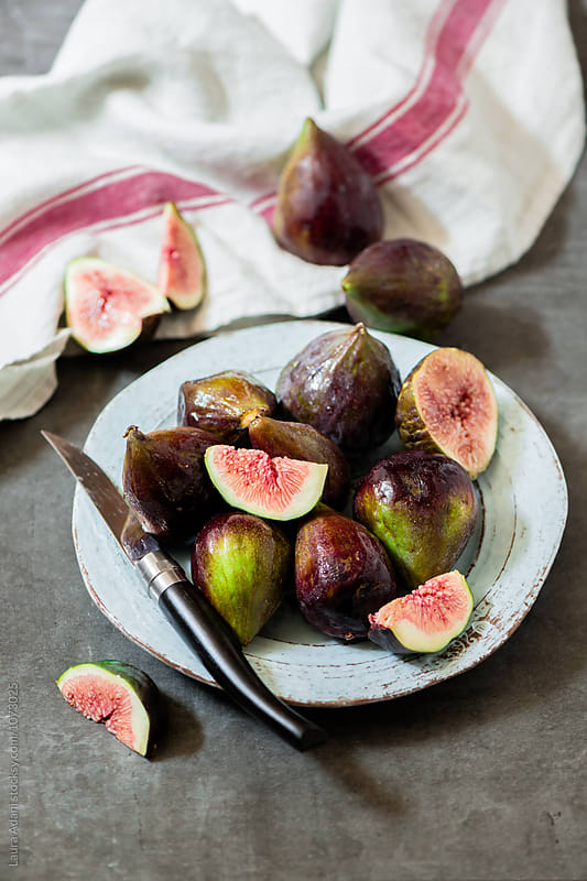 Purple figs by Laura Adani for Stocksy United
