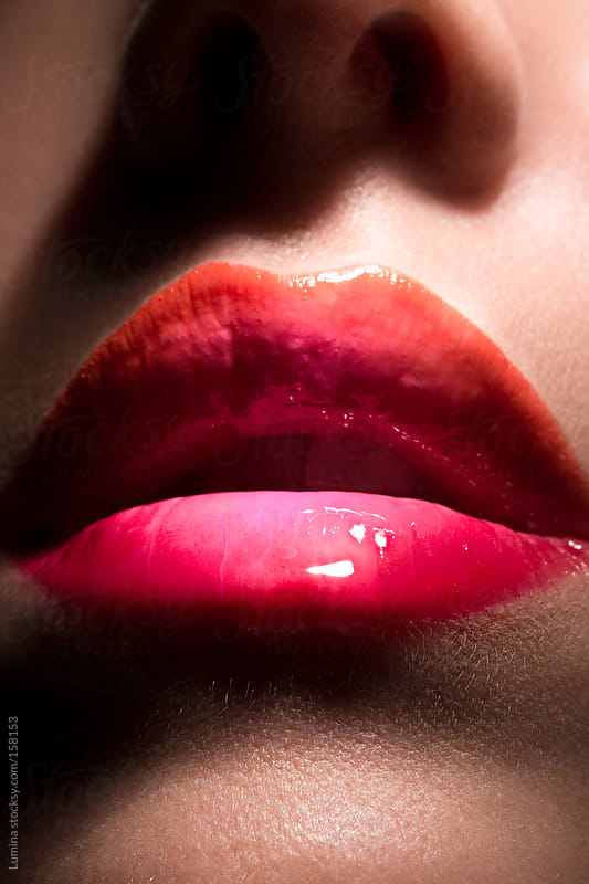 Glossy Lips by Lumina for Stocksy United