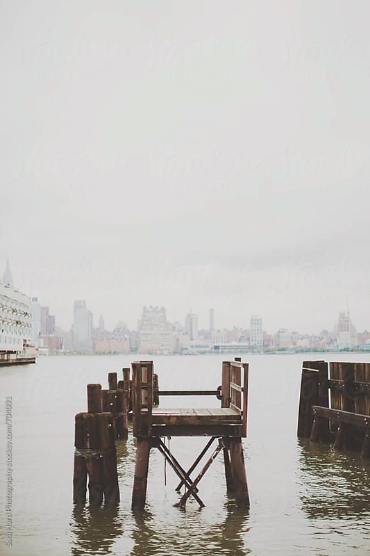 new york old bridge by Sam Hurd Photography for Stocksy United