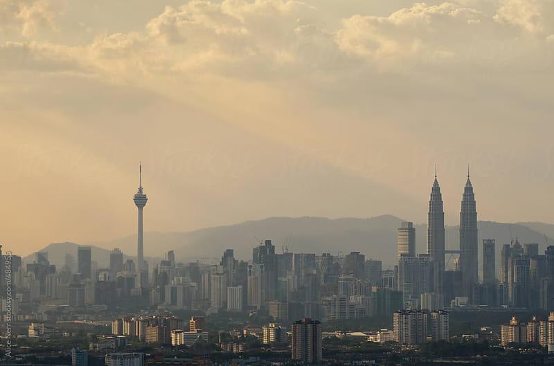 Sunrise in Kuala Lumpur by Alice Nerr for Stocksy United