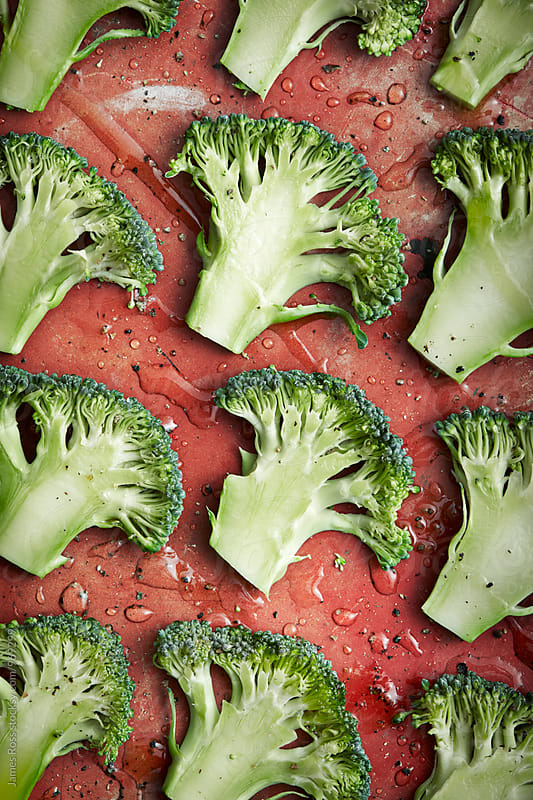 Broccoli florets by James Ross for Stocksy United