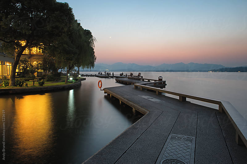 Hangzhou - Autumn at West Lake by Andy Brandl for Stocksy United
