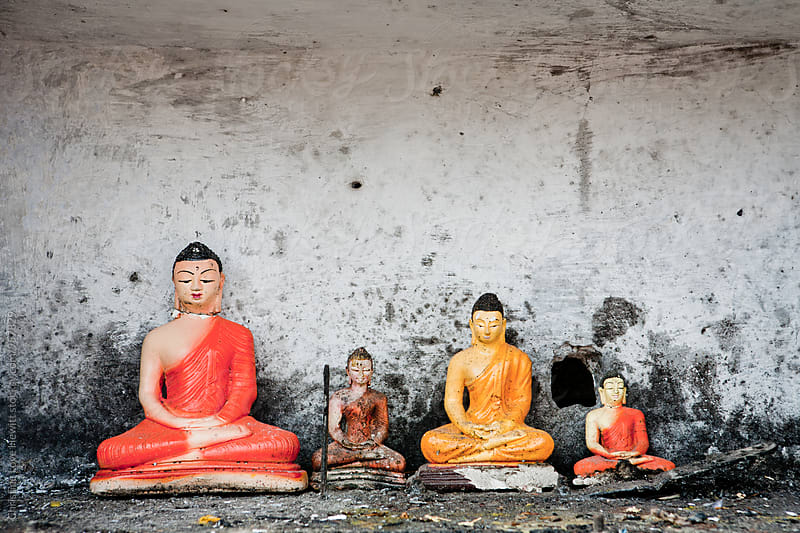 Buddha Statues by Christine Hewitt for Stocksy United