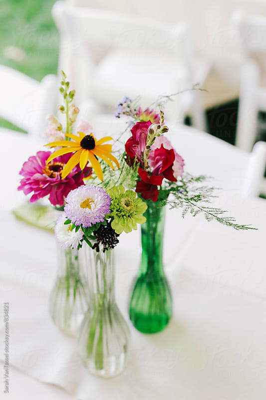 Summer Wedding Floral. by Sarah VanTassel for Stocksy United