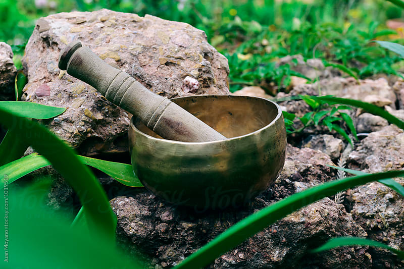 tibetan singing bowl by juan moyano for Stocksy United