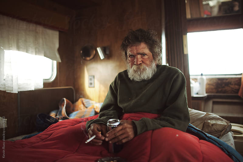 Motorhome Man by Kevin Russ for Stocksy United