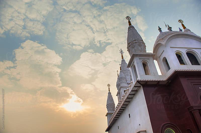 Vaishnava Temple. Govardham, India. by Gabriel Diaz for Stocksy United