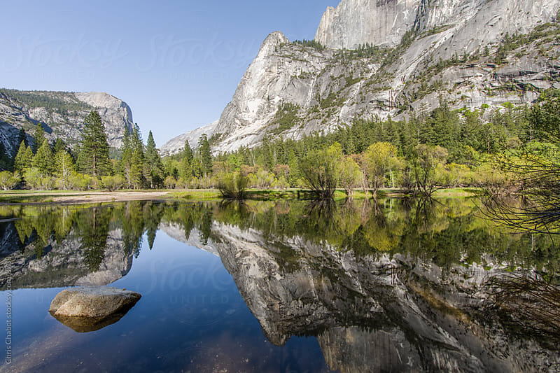 Mirror Lake, Yosemite by Chris Chabot for Stocksy United