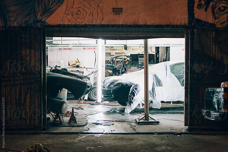 Auto Body Shop by Stephen Morris for Stocksy United
