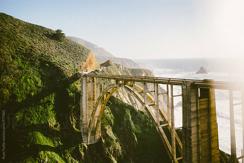 Bixby Bridge by Ryan Tuttle for Stocksy United