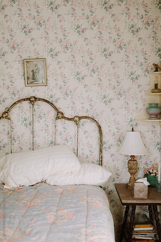 Country style bedroom. by Nirav Patel for Stocksy United