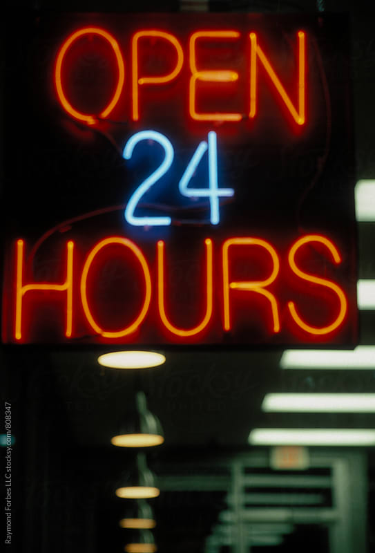 Open 24 Hours by Raymond Forbes LLC for Stocksy United