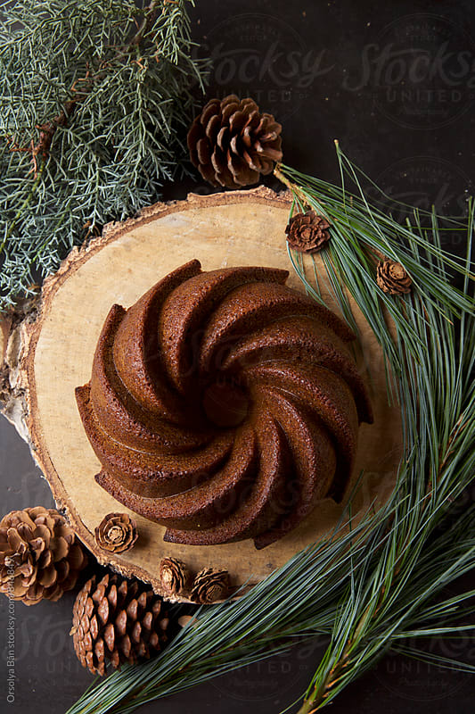 Gingerbread Bundt by Orsolya Bán for Stocksy United