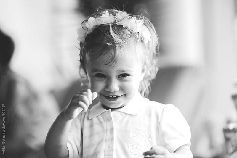 Cute little girl  by Adrian Cotiga for Stocksy United