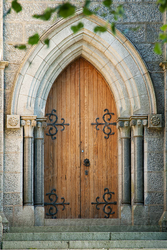 Old church door by Ruth Black for Stocksy United