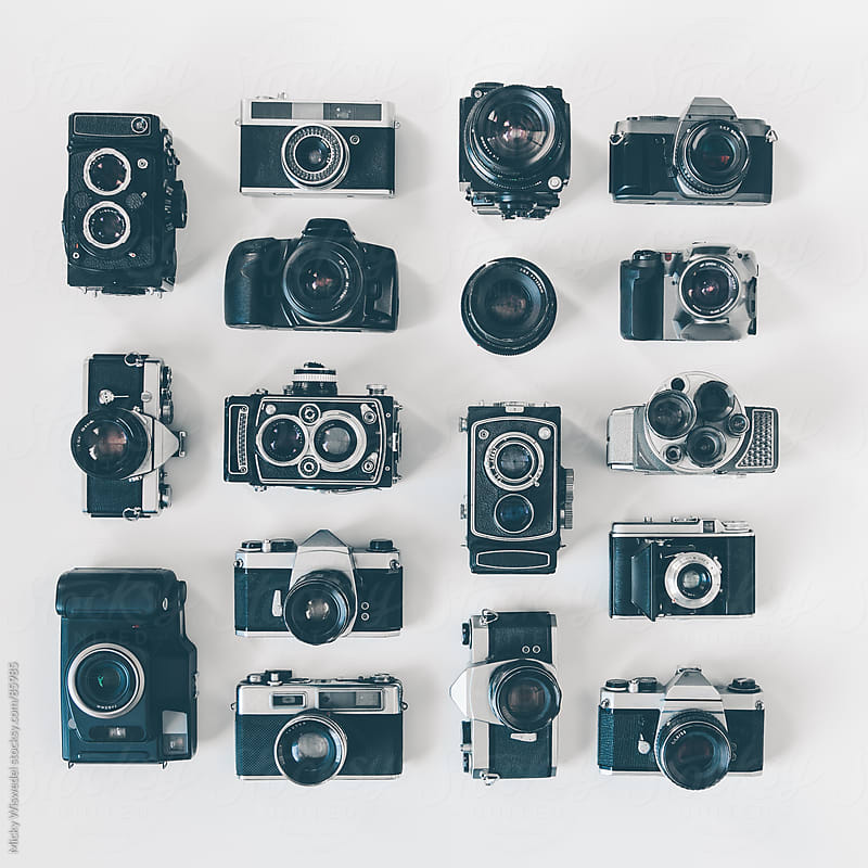 Retro Camera Collection by Micky Wiswedel for Stocksy United