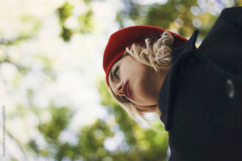 Beautiful girl in the park by Jovana Rikalo for Stocksy United