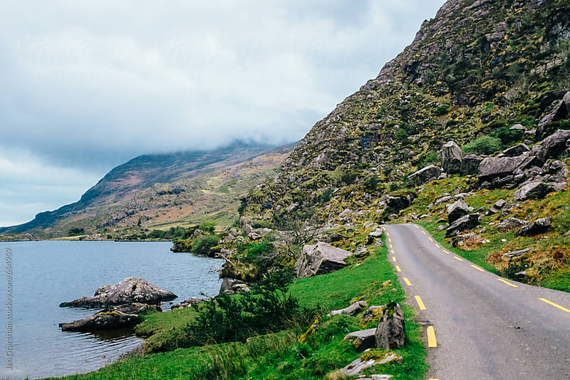Driving North through the Gap of Dunloe by Jen Grantham for Stocksy United