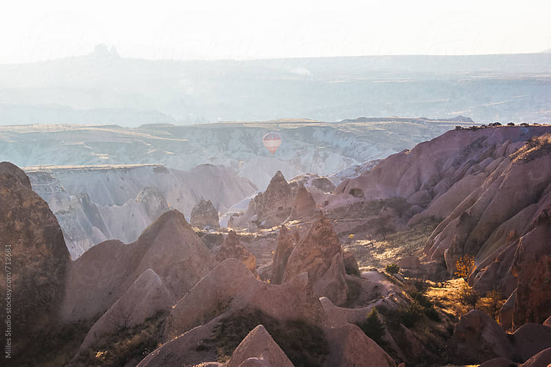 View of Cappadocia by Milles Studio for Stocksy United