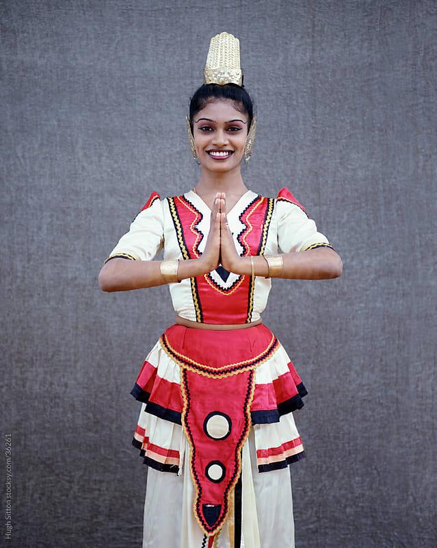 Portrait of Kandyan Dancer by Hugh Sitton for Stocksy United