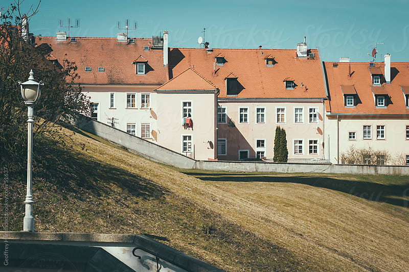 Old Buildings Used as Apartments in Cheb, Czech Republic by Geoffrey Hammond for Stocksy United