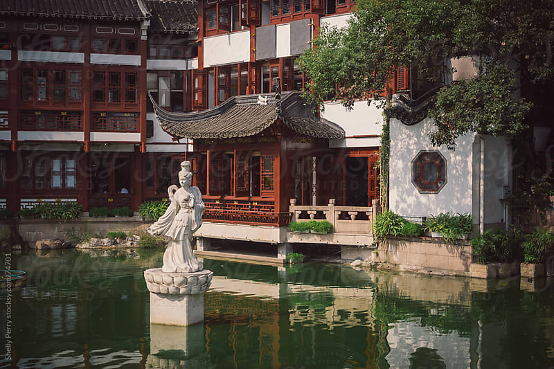 Yuyuan Garden in Shanghai, China. by Shelly Perry for Stocksy United