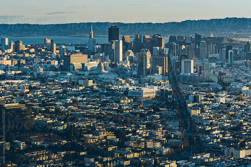 landscape of San Francisco by unite images for Stocksy United