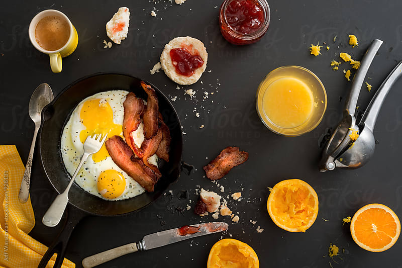 Bacon and Eggs  by Studio Six for Stocksy United