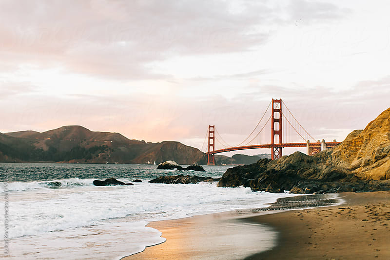 Golden Gate Bridge by Lukas Korynta for Stocksy United