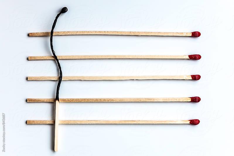 Matchsticks by Zocky for Stocksy United