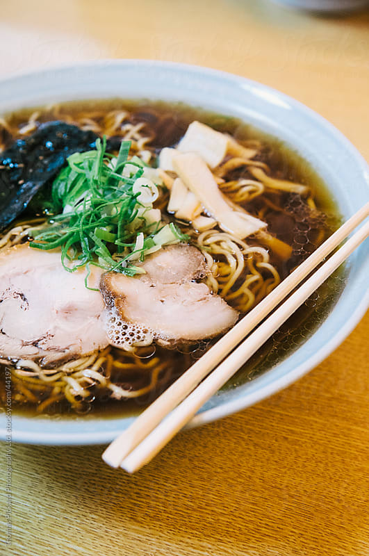 A bowl of Ramen noodles, Japan. by Thomas Pickard for Stocksy United