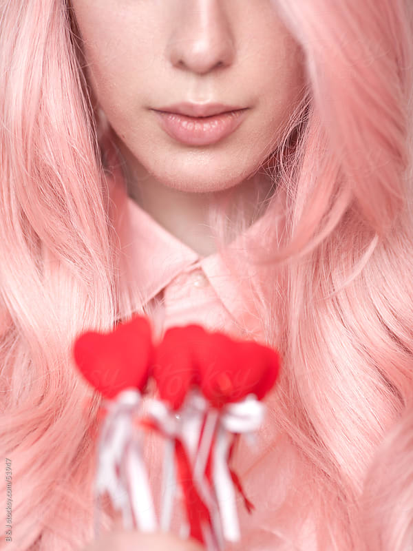 pastel pink by B & J for Stocksy United