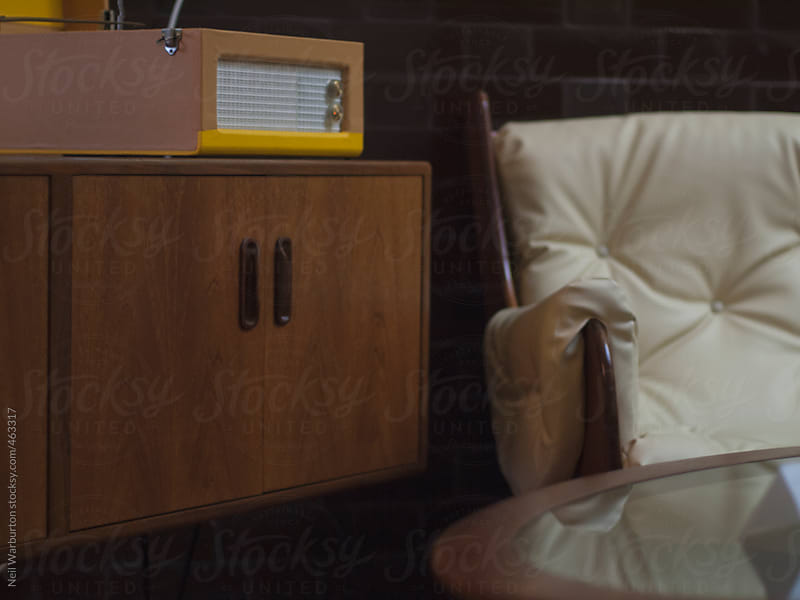 Vintage style lounge by Neil Warburton for Stocksy United
