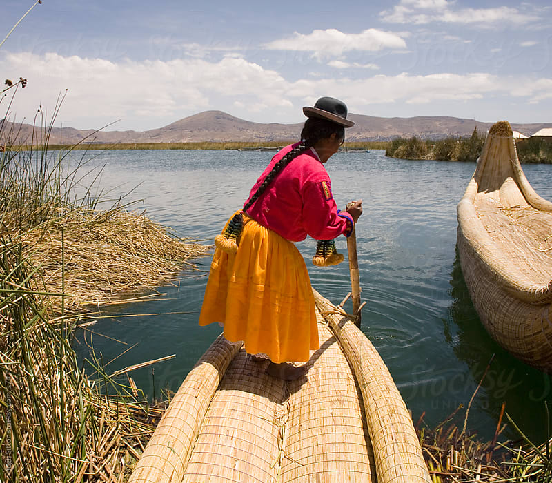 The islands of Lake Titicaca. Puno. Peru by Hugh Sitton for Stocksy United
