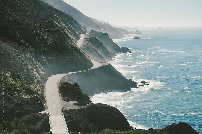 Highway 1, Big Sur by Joel Bear Studios for Stocksy United