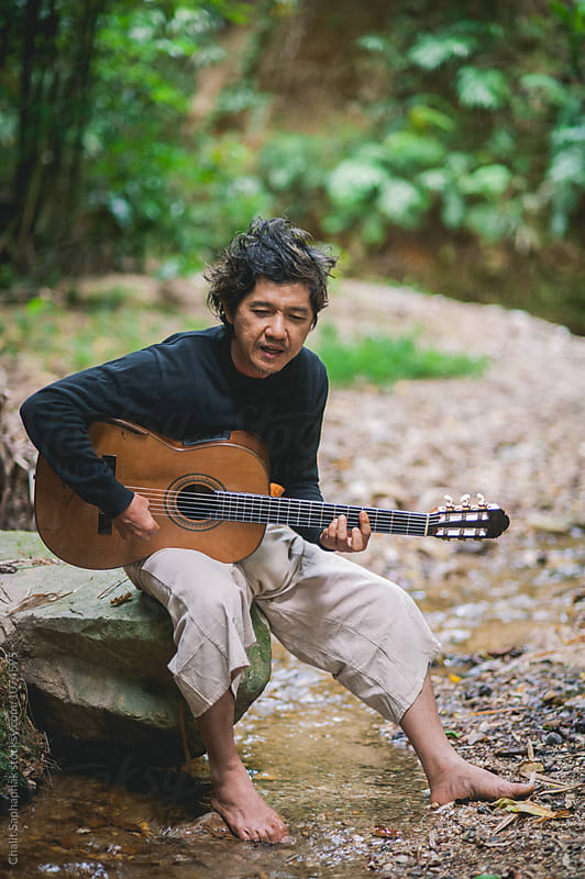 Song from the forest by Chalit Saphaphak for Stocksy United