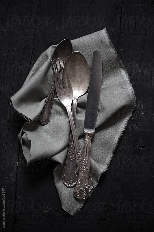 Antique Cutlery  by Lumina for Stocksy United