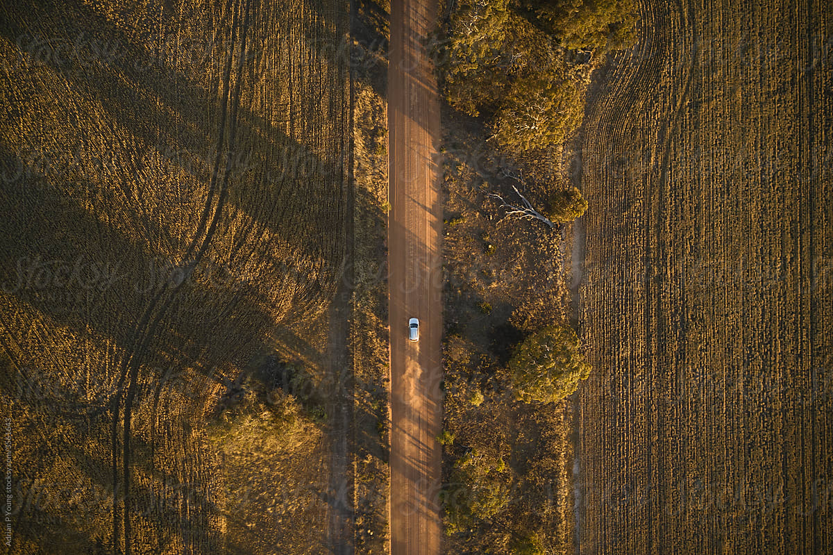 SUV Road Trip In Australia