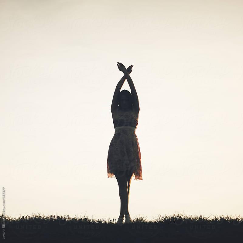 Girl  silhouette by Jovana Rikalo for Stocksy United