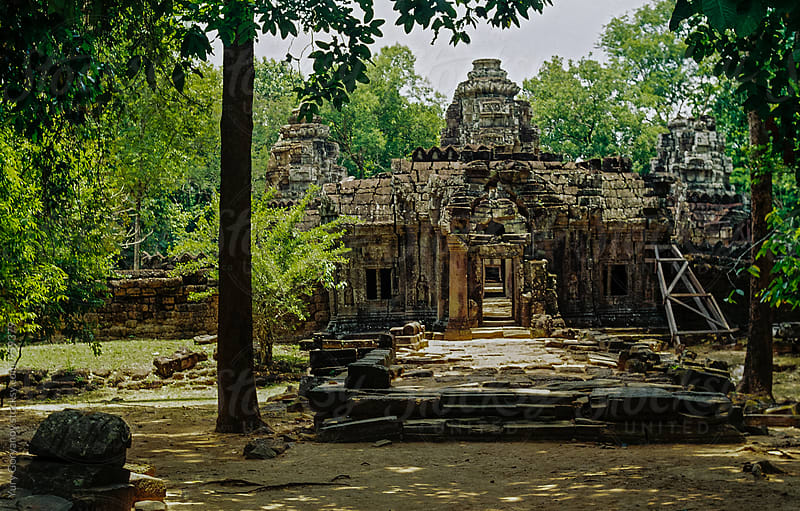Ancient temple. Angkor Wat. by Юрий Горяной for Stocksy United