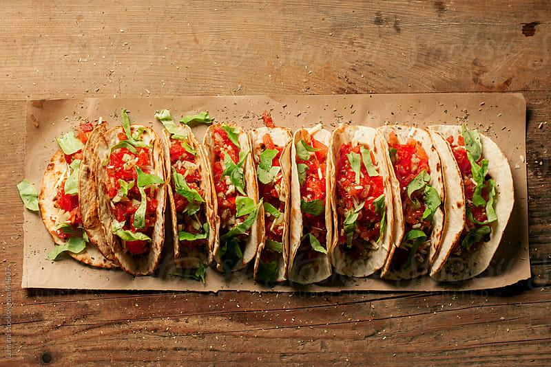 Delicious Tacos by Lumina for Stocksy United