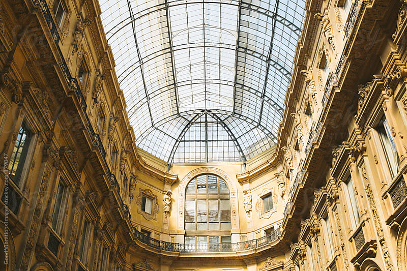 Vittorio Emanuele II gallery by Good Vibrations Images for Stocksy United