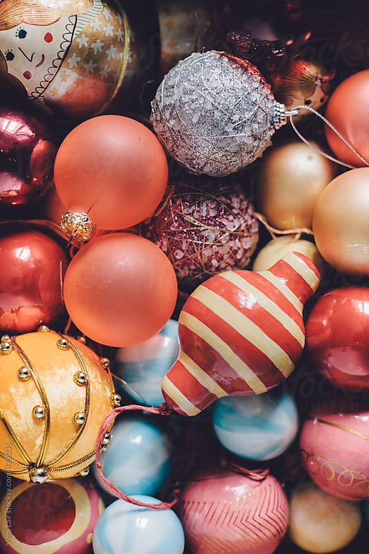 Christmas balls by Vera Lair for Stocksy United