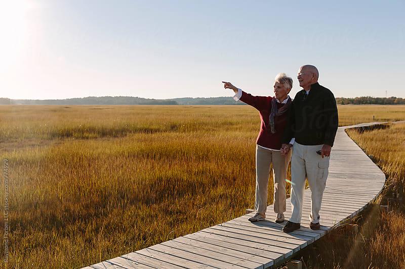 Senior Couple lifestyle by Raymond Forbes LLC for Stocksy United
