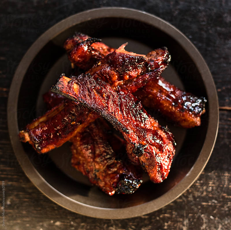 BBQ Ribs. by Darren Muir for Stocksy United