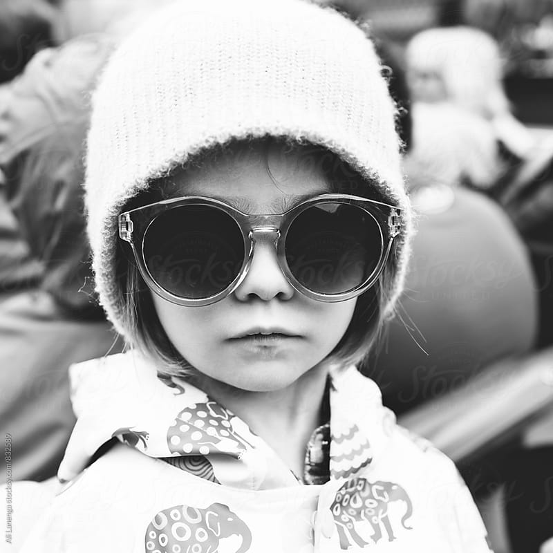 Hipster Child by Ali Lanenga for Stocksy United
