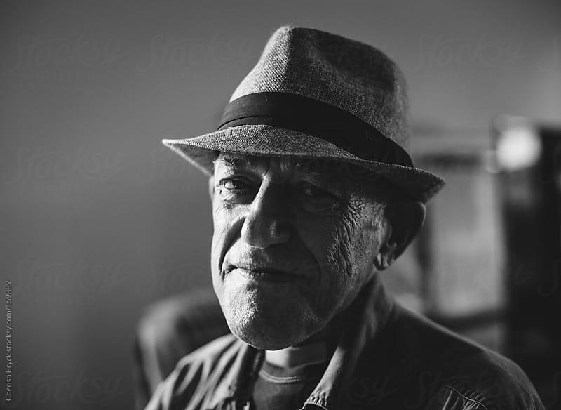 A distinguished elderly man. by Cherish Bryck for Stocksy United