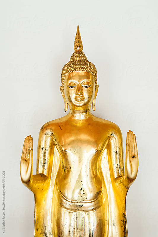Buddha statue by Christine Hewitt for Stocksy United