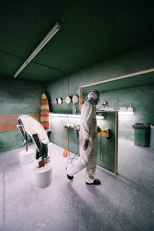 Shaper's Surfboard Workshop by Urs Siedentop & Co for Stocksy United